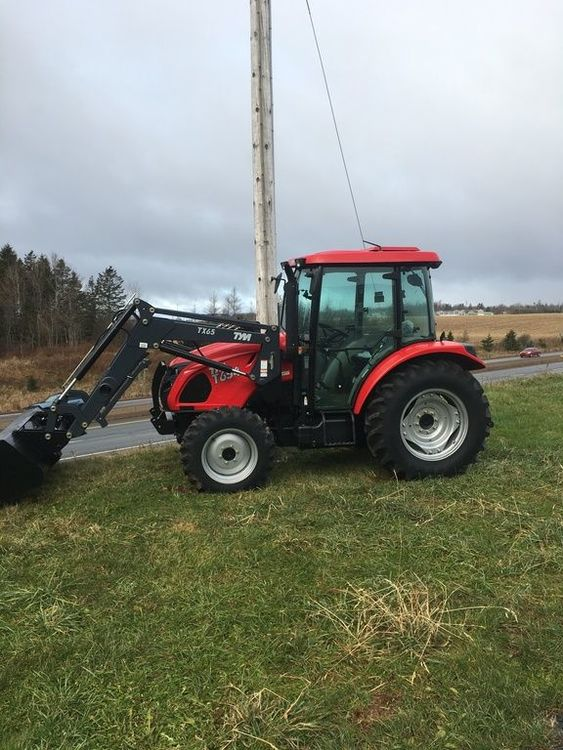 2018 TYM Tractors Full Size Utility Tractors T654 C (No Power Shuttle)